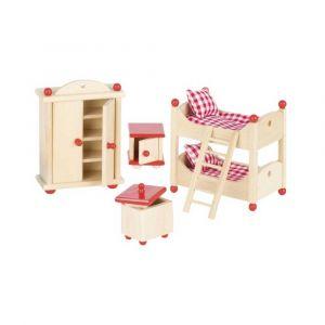 """Кукольный набор """"Мебель для детской"""", Goki"""