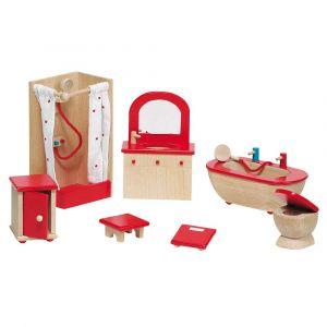 """Кукольный набор """"Мебель для ванной комнаты"""", Goki"""