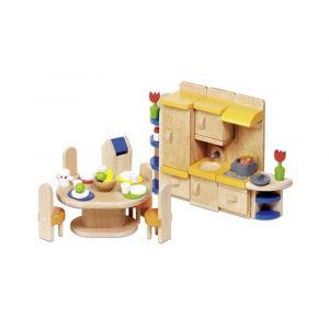 """Кукольный набор """"Кухонная мебель"""", Goki"""