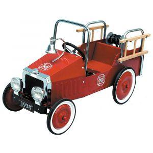 """Педальная машинка """"Пожарная машина"""", Goki"""