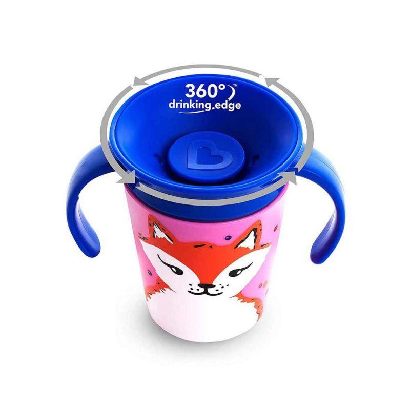 "Чашка непроливайка ""Miracle 360 Deco"" 177 мл, Munchkin"