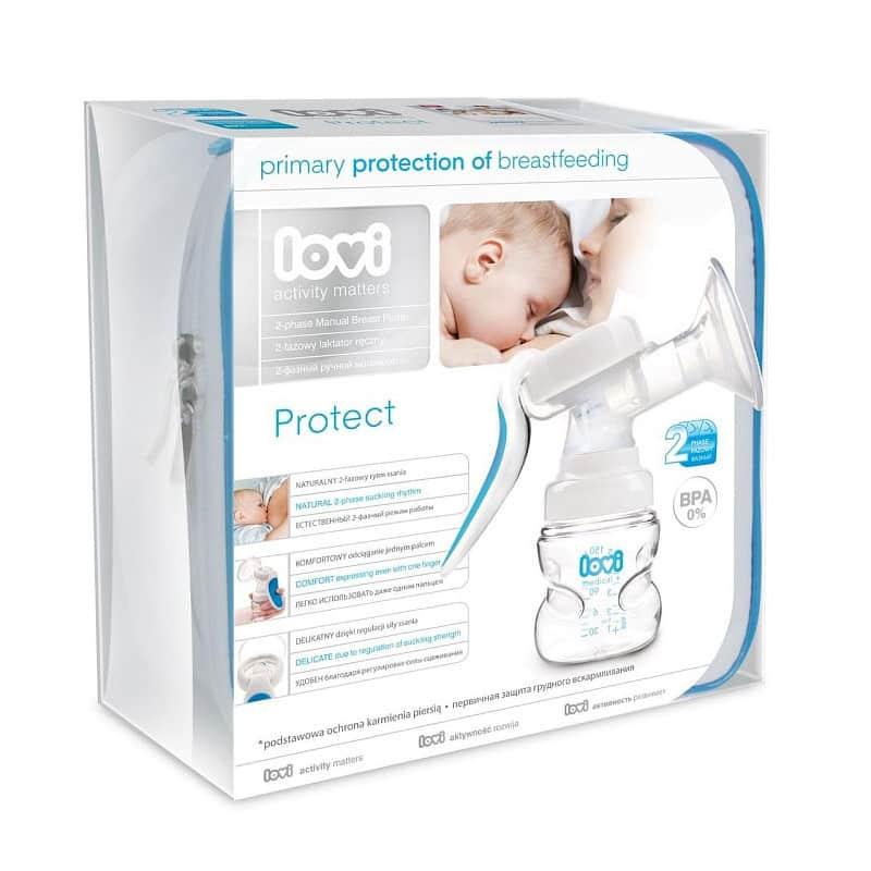 Молокоотсос двухфазный ручной Protect, Lovi