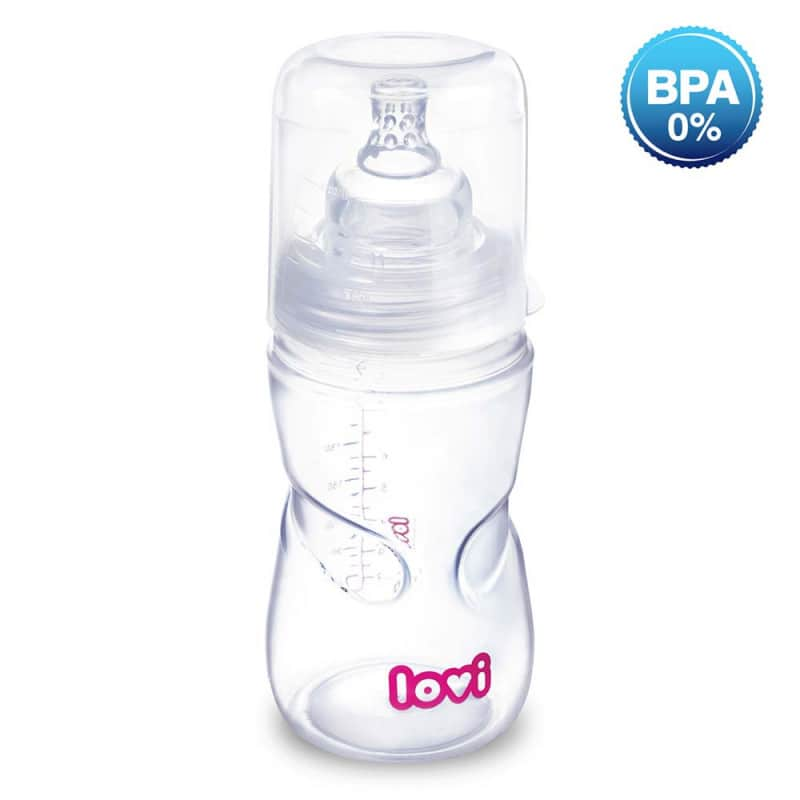 """Бутылочка для кормления самостерилизующаяся """"Super vent"""", Lovi"""