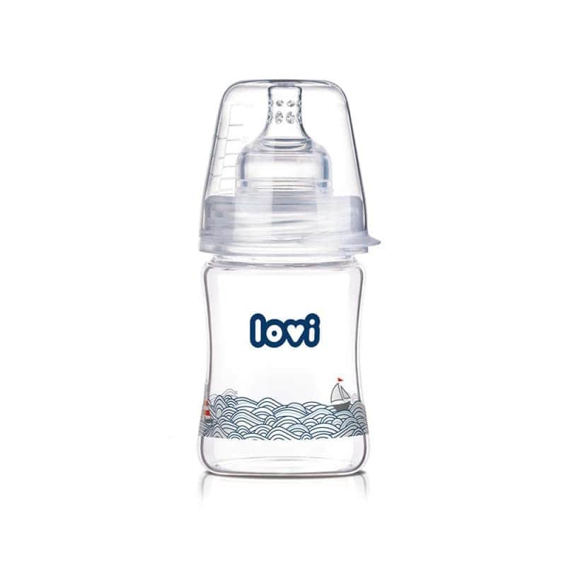 """Бутылочка стеклянная """"Diamond Glass - Marine"""", Lovi"""