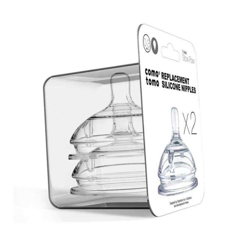 Сменные соски для бутылочки (2 шт.), Comotomo