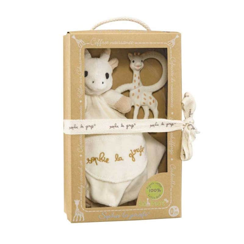 Подарочный набор So Pure (Комфортер + Жирафа Софи с кольцами), Sophie la girafe (Vulli)