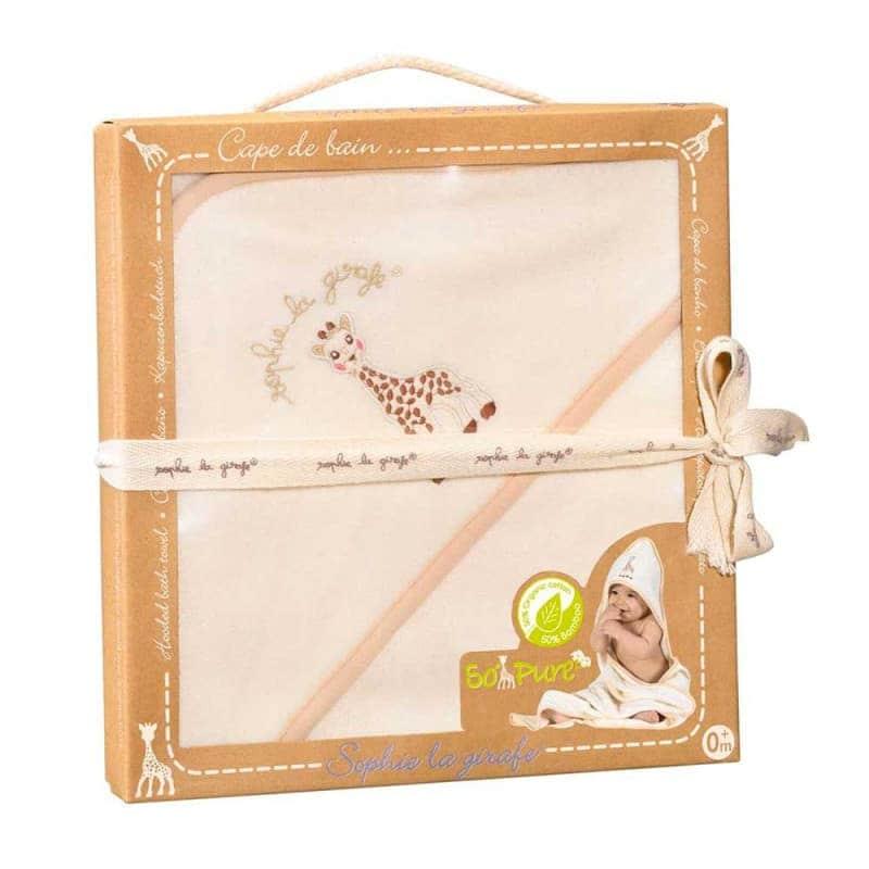 Детское полотенце с капюшоном, Sophie la girafe (Vulli)