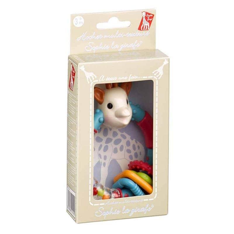 Погремушка-прорезыватель Софи прорезиненая, Sophie la girafe (Vulli)