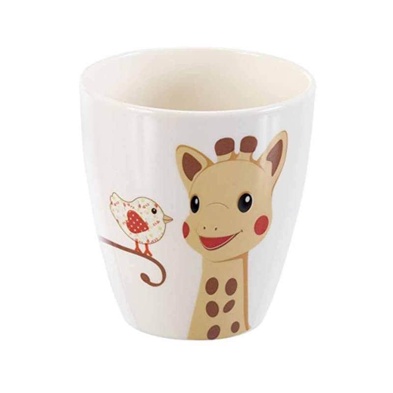 Набор детской посуды Жираф Софи Kiwi, Sophie la girafe (Vulli)