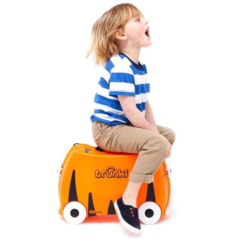 "Детский чемодан ""Tipu Tiger"", Trunki"
