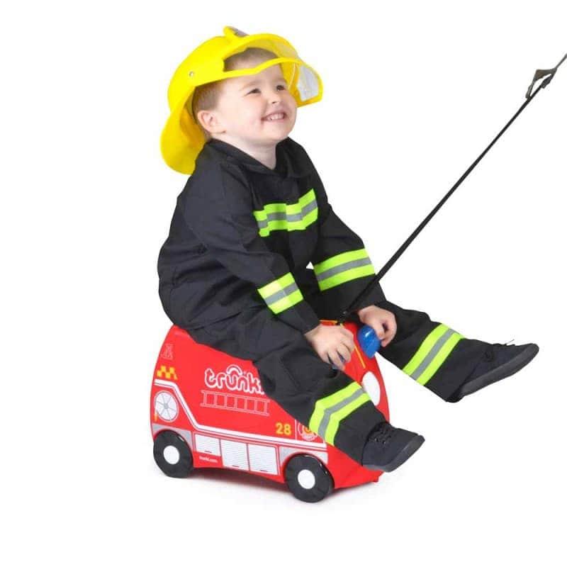 "Детский чемодан ""Frank FireTruck"", Trunki"