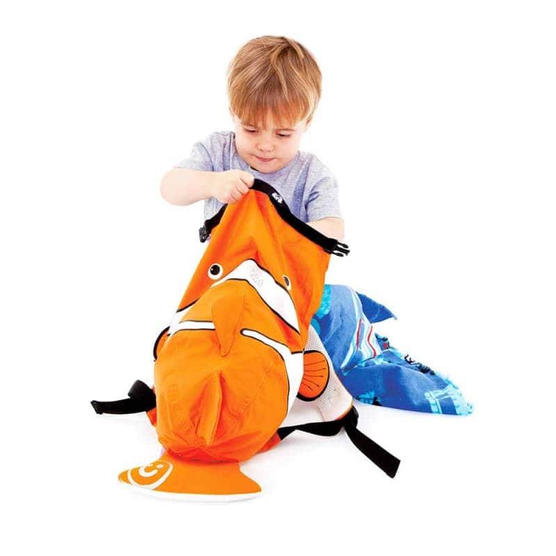 """Детский рюкзак """"Рыбка"""" (оранжевая), Trunki"""