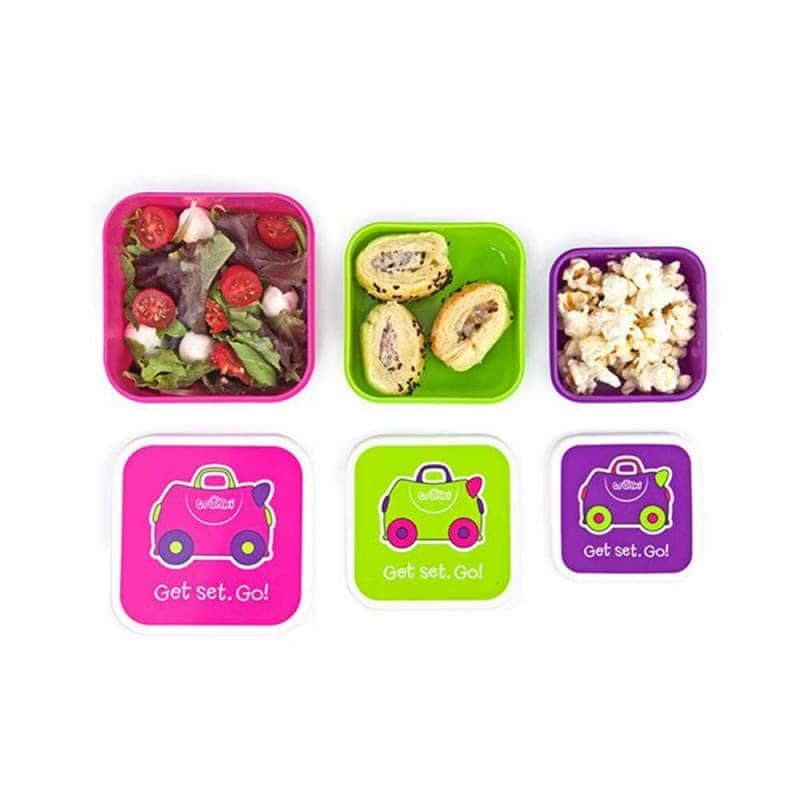 Набор детских контейнеров для еды (для девочки), Trunki