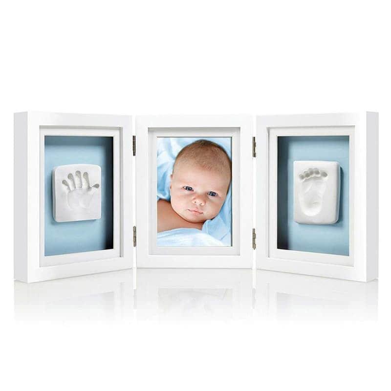 Настольная тройная рамка для фото и глиняного слепка, Pearhead