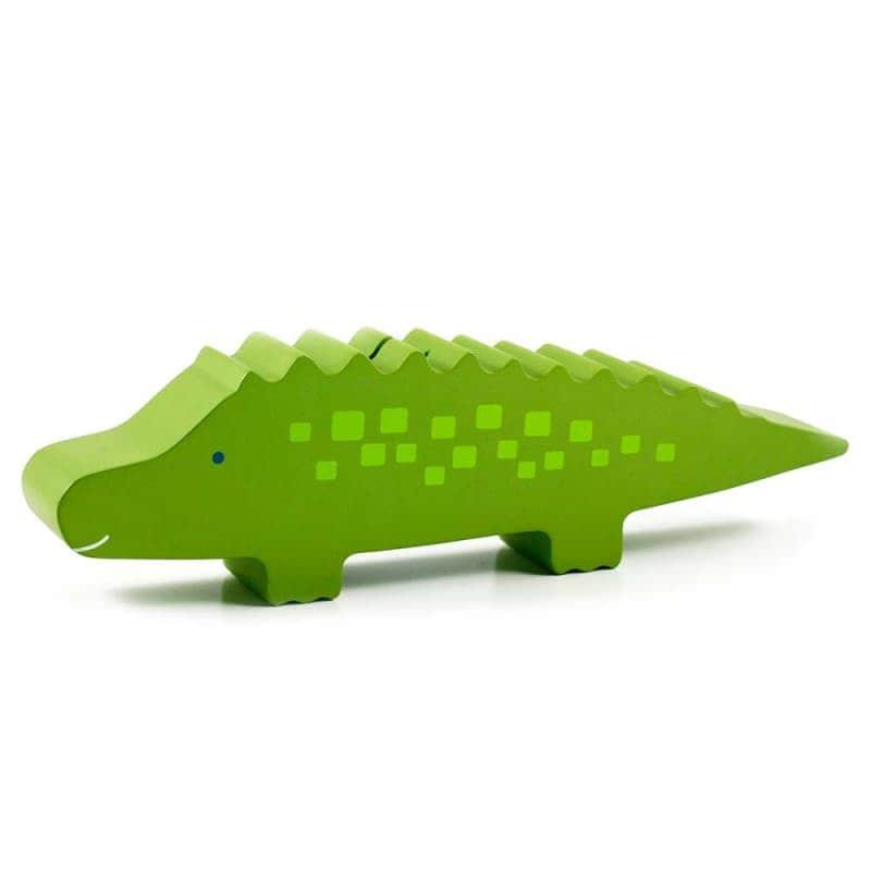 """Деревянная копилка """"Крокодил"""", Pearhead"""