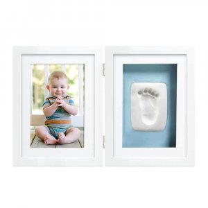 Настольная двойная рамка для фото и глиняного слепка, Pearhead