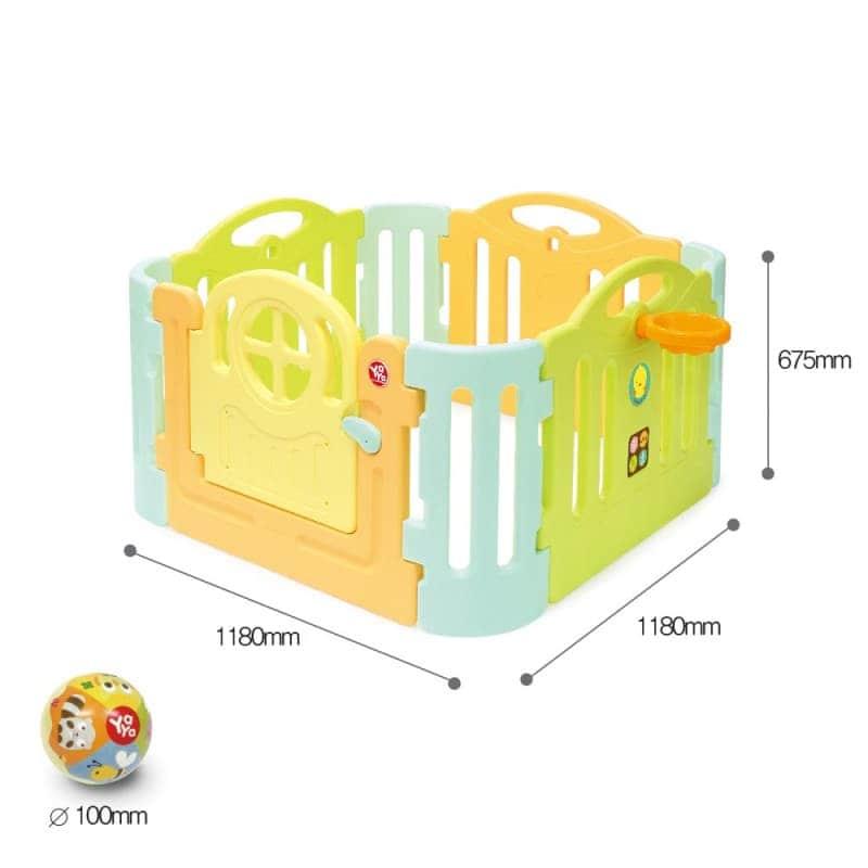 Детская игровая площадка (манеж) Lollipop, YaYa