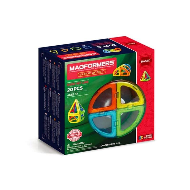 """Магнитный конструктор """"Curve set"""" 20 эл., Magformers"""