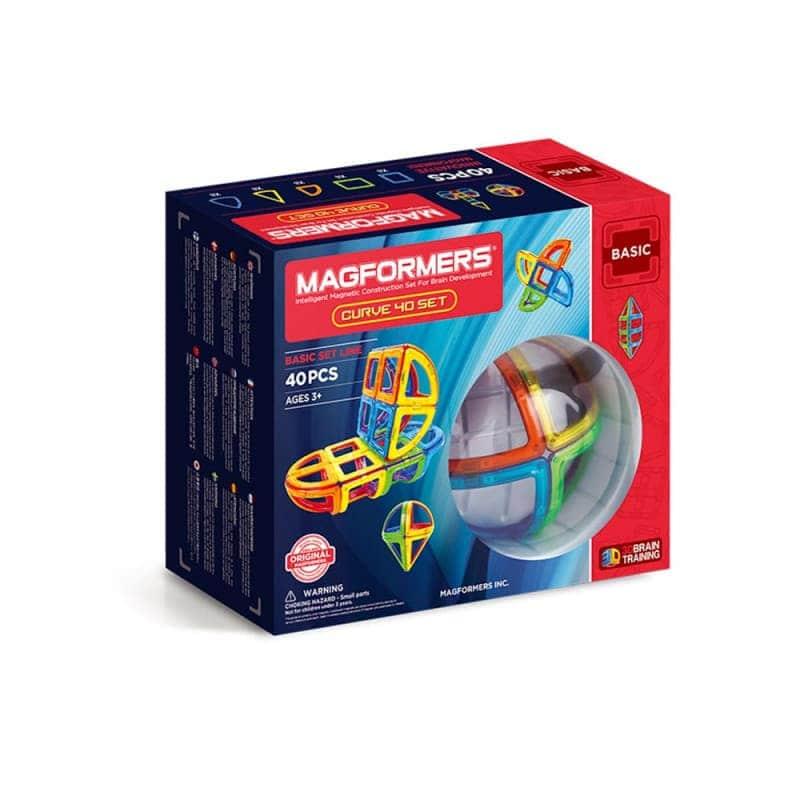 """Магнитный конструктор """"Curve set"""" 40 эл., Magformers"""