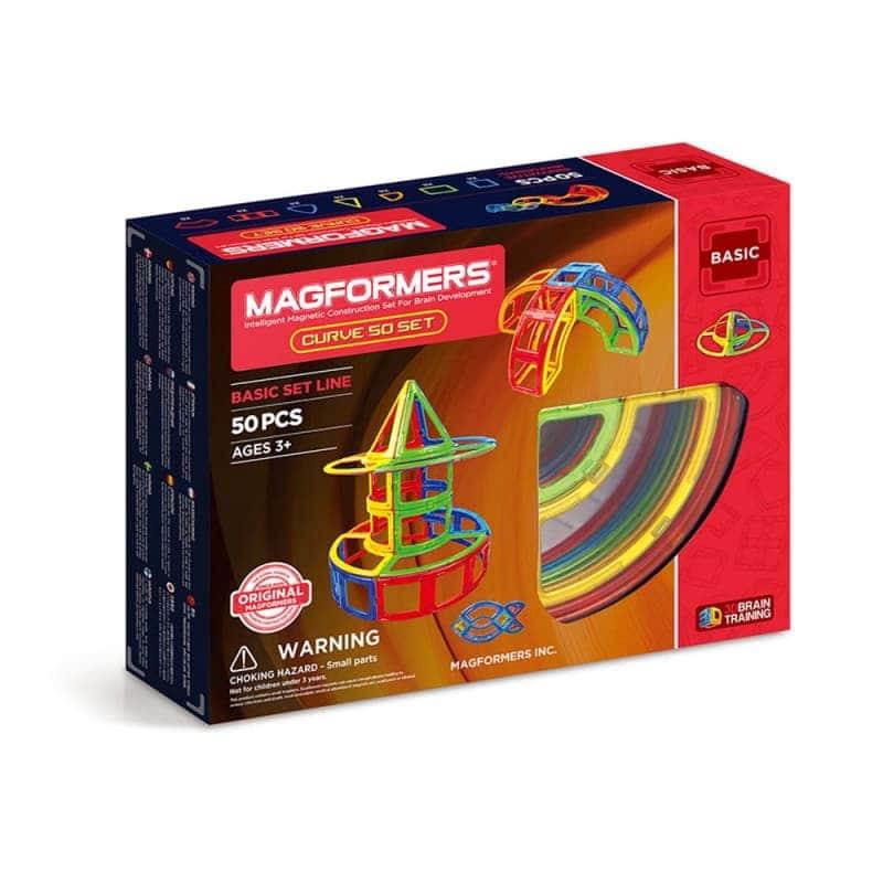 """Магнитный конструктор """"Curve set"""" 50 эл., Magformers"""