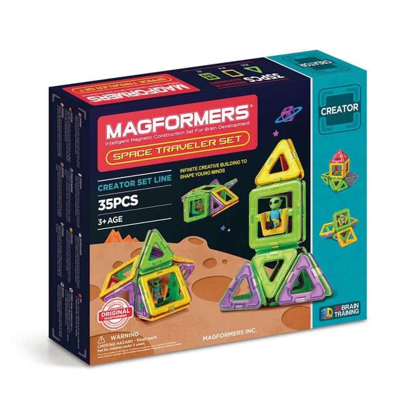 "Магнитный конструктор ""Space Traveler Set"", Magformers"