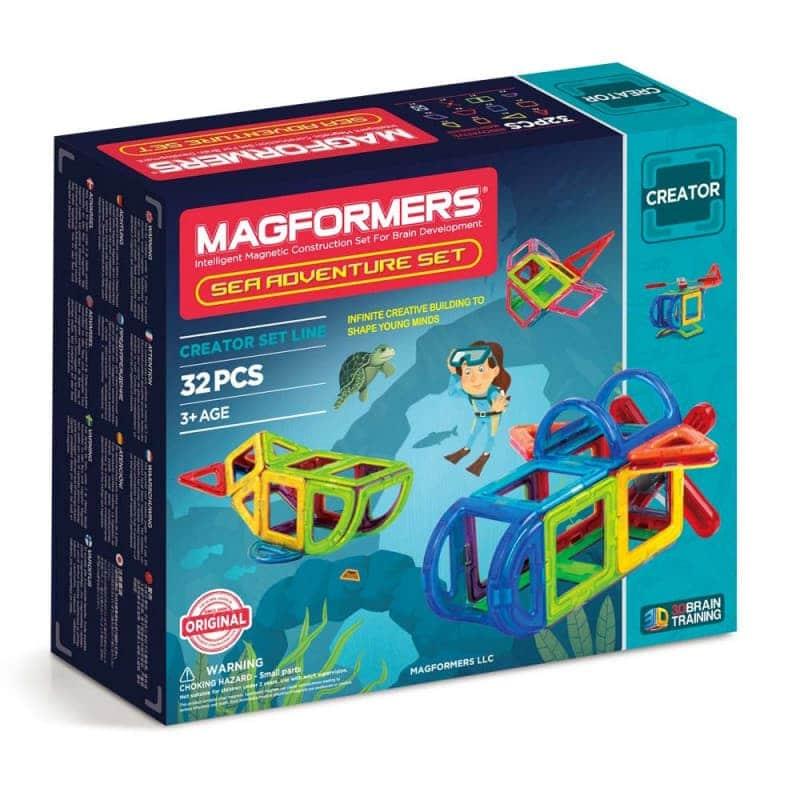 """Магнитный конструктор """"Sea Аdvanture Set"""", Magformers"""