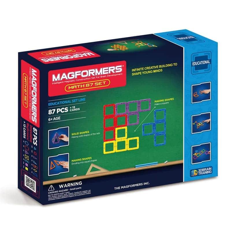 """Магнитный конструктор """"Math 87 Set"""", Magformers"""