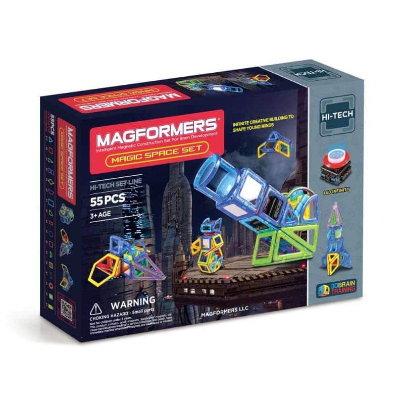"""Магнитный конструктор """"Magic Space Set"""", Magformers"""