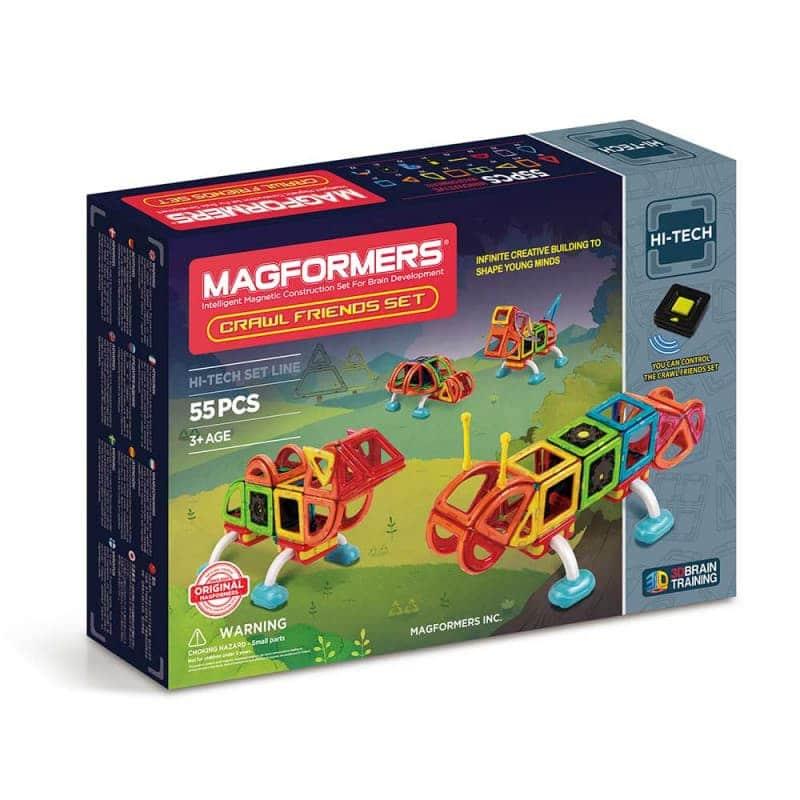 """Магнитный конструктор """"Crawl Friends Set"""", Magformers"""