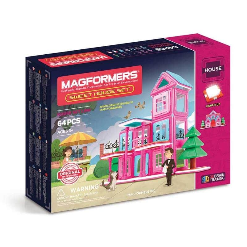 "Магнитный конструктор ""Sweet House Set"", Magformers"