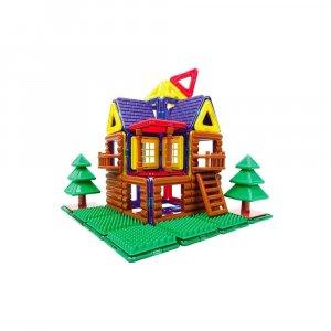 """Магнитный конструктор """"Log House Set"""", Magformers"""