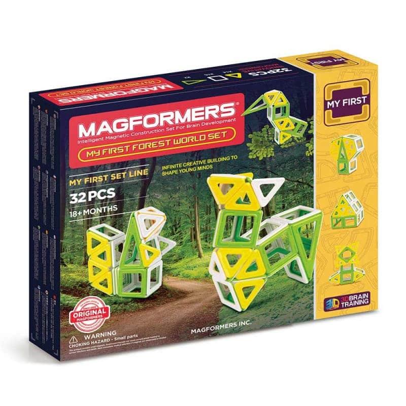 "Магнитный конструктор ""My First Forest World Set"", Magformers"