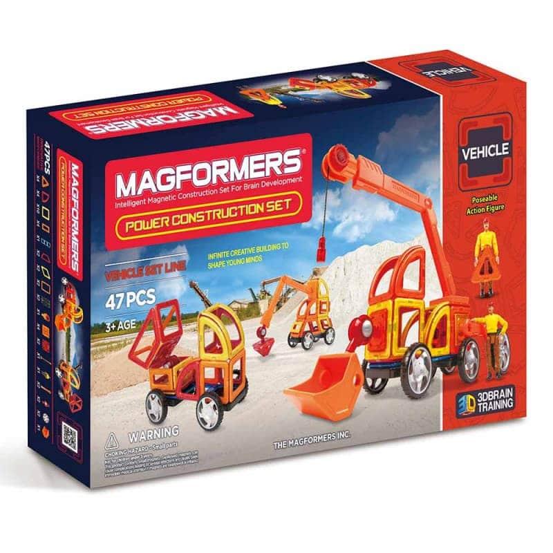 """Магнитный конструктор """"Power Construction Set"""", Magformers"""