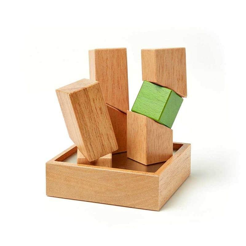 """Магнитная скульптура из 7 блоков """"Asterisk"""", Tegu"""