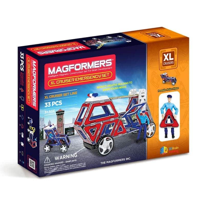 "Магнитный конструктор ""XL Cruisers Emergency Set"", Magformers"