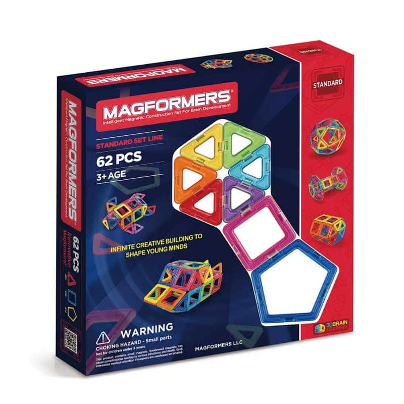 "Магнитный конструктор ""Standard Set Line""  (62 эл.) , Magformers"
