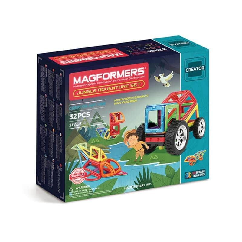 """Магнитный конструктор """"Jungle Adventure Set"""", Magformers"""
