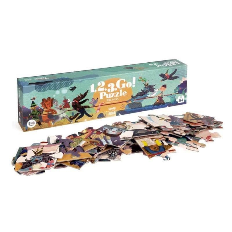 """Пазл """"1, 2, 3 go! puzzle"""", Londji"""