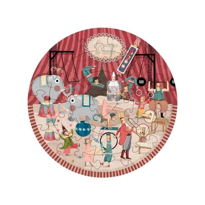 "Пазл ""Circus round puzzle"", Londji"
