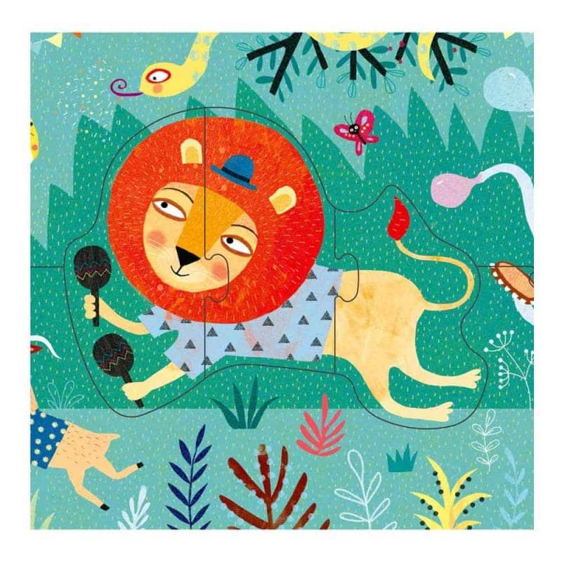 "Пазл ""My jungle puzzle"", Londji"