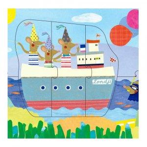 """Пазл """"Bon voyage puzzle"""", Londji"""