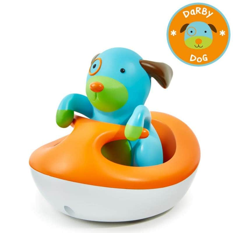 """Игрушка для купания """"Собачка в лодке"""", Skip Hop"""