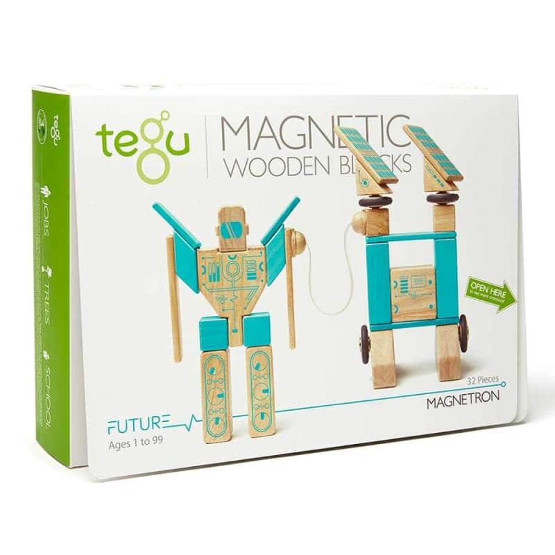 """Деревянный магнитный конструктор """"Magnetron"""", Tegu"""