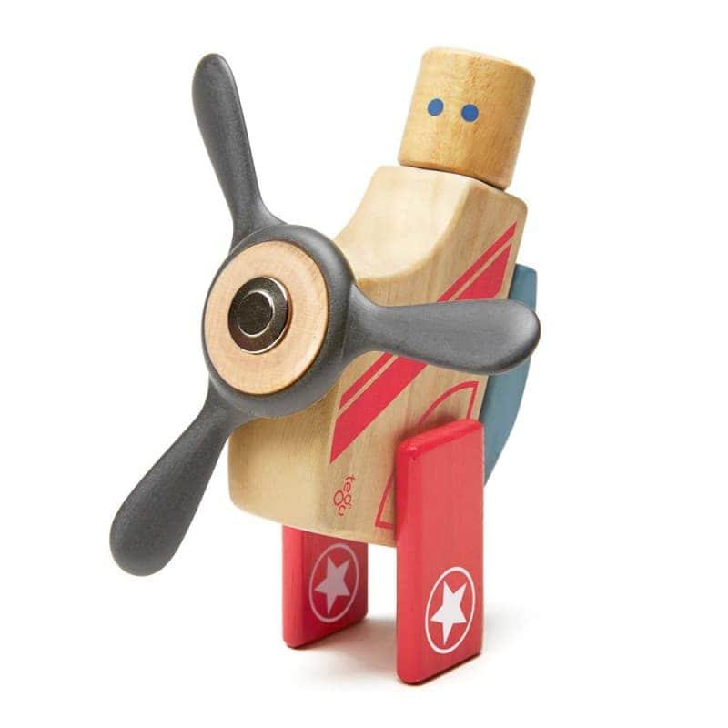 """Деревянный магнитный конструктор """"Looper"""", Tegu"""
