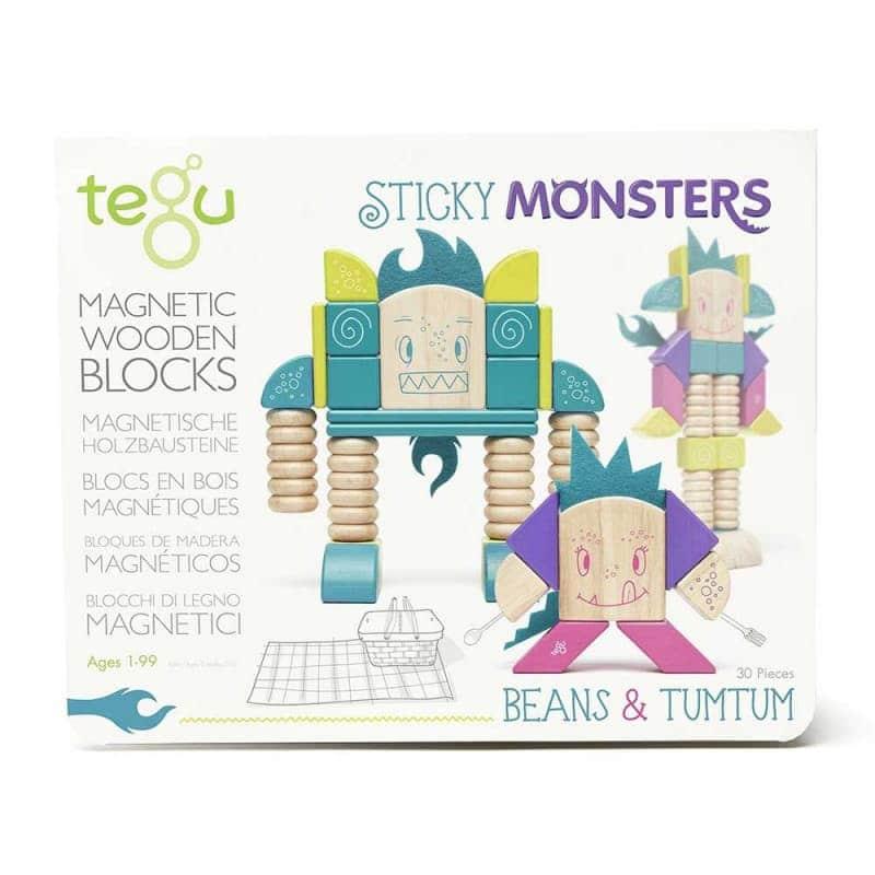 """Деревянный магнитный конструктор """"Beans & Tumtum"""", Tegu"""