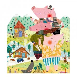 "Пазл ""My 3 little pigs puzzle"", Londji"
