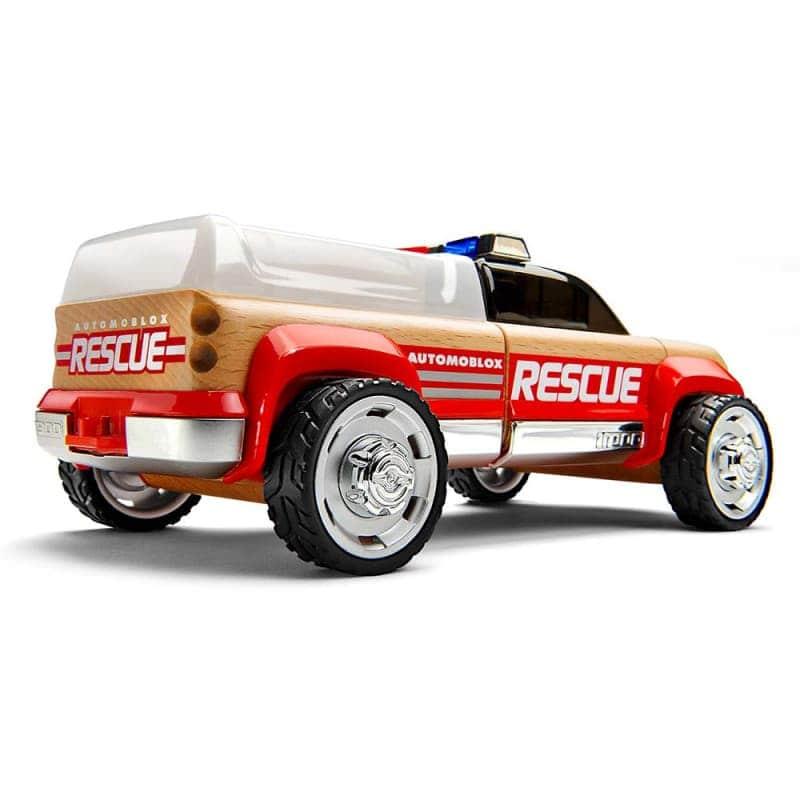 "Машинка-конструктор ""T900 Rescue Truck"", Automoblox"