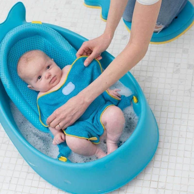 """Согревающее полотенце для купания  """"Кит"""", Skip Hop"""
