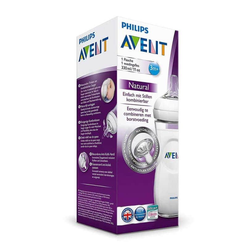 "Бутылочка для кормления ""Natural"", Philips Avent"