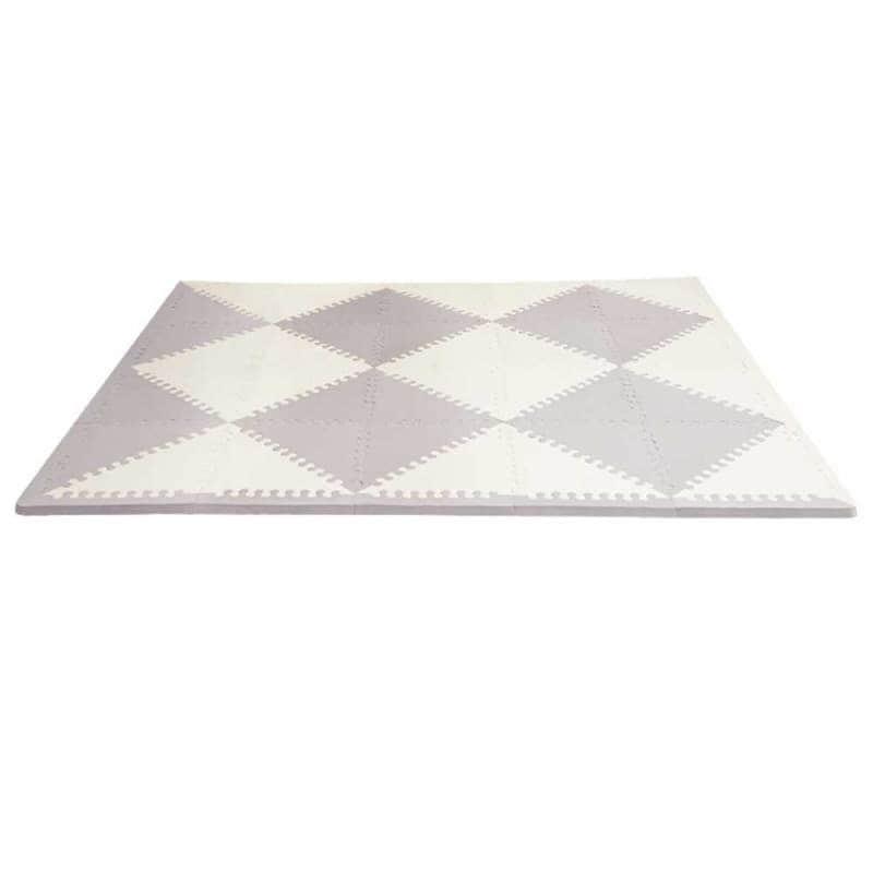 Игровой коврик-пазл Playspot Geo Grey/Cream, Skip Hop